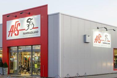 AFS Fahrradland außen